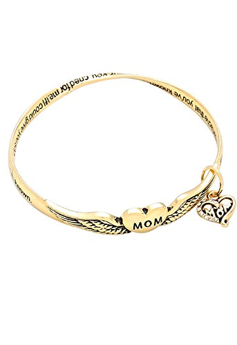 rosemarie-collections-bangle-twist-metal-bracelet-mom-if-i-could-give-you-diamonds-poem-gold