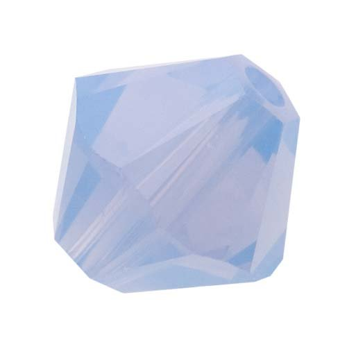 Bicone Beads Air - Swarovski Crystal, #5328 Bicone Beads 4mm, 24 Pieces, Air Blue Opal