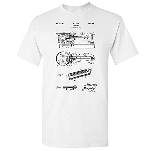 Triple Beam Balance Scale T-Shirt, Science Teacher Gift, Laboratory Scales, Chemistry Gifts, Math Student, Mad Scientist White (XL)
