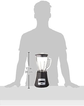 Oster blstmg negro 8 velocidad 6 tazas – Batidora con jarra de ...