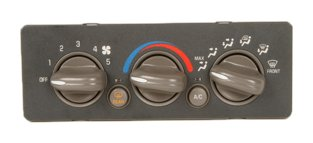 ACDelco 15-72870 GM Original Equipment Heating and Air Conditioning Control Panel with Rear Window Defogger Switch