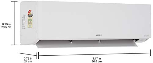 Hitachi 1.5 Ton 3 Star Inverter Split AC (Copper RSD317HCEA White) 2021 July Split AC with inverter compressor: Variable speed compressor which adjusts power depending on heat load. It is most energy efficient and has lowest-noise operation Capacity: 1.5 Ton. Suitable for medium sized rooms (111 to 150 sq ft), Auto Restart Energy Rating: 3 Star. ISEER Value: 3.8 (Please refer energy label on product page or contact brand for more details)