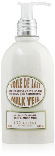 L'Occitane Ultra-Light Almond Body Milk Veil, 8.4 fl. oz.