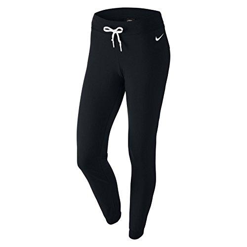 Price comparison product image Nike Womens Jersey Cuffed Pants (M, Black/White)