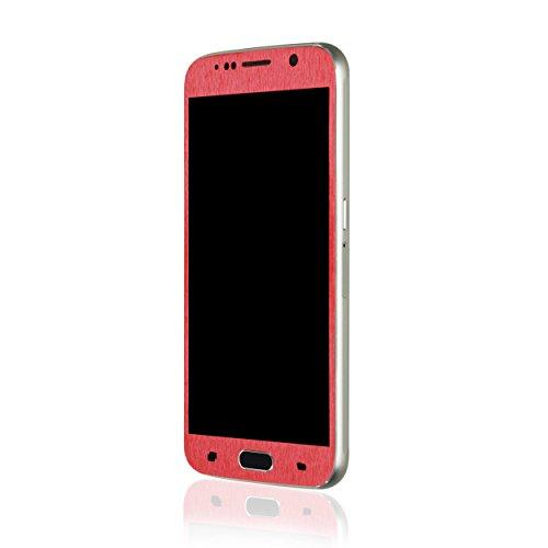 AppSkins Vorderseite Samsung Galaxy S6 Metal red