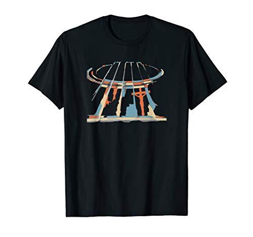 Acoustic Guitar Christian Guitar Player Artist T Shirt