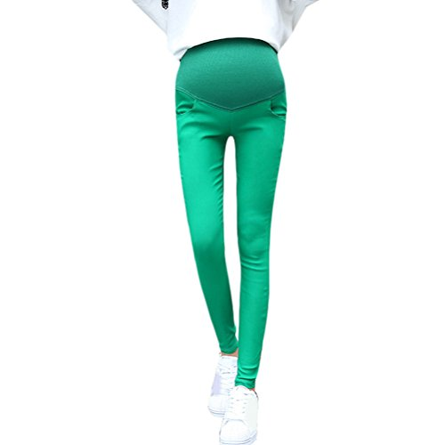 Zhhlaixing pantalones de maternidad Pregnancy Women Pants Pure Cotton Maternity Clothes Pencils Pants Black White Green