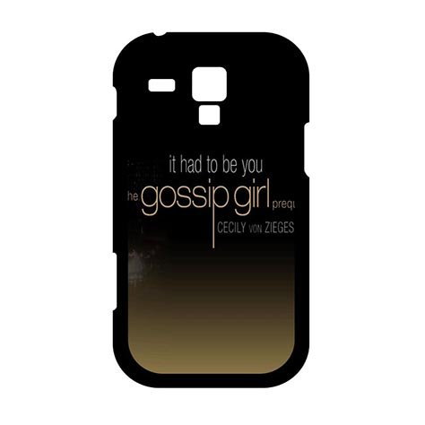 Nice Brand Gossip Girl Samsung Galaxy S3 MINI Active Aegis Cases (Girl Gossip Mini)