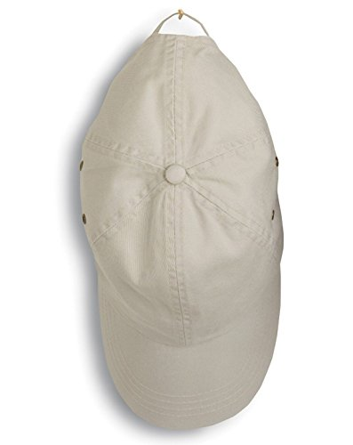 - Anvil 156 Twill 6-Panel Low Profile Cap Wheat One Size