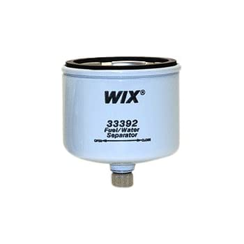 33423 Heavy Duty Spin On Fuel Water Separator Pack of 1 WIX Filters