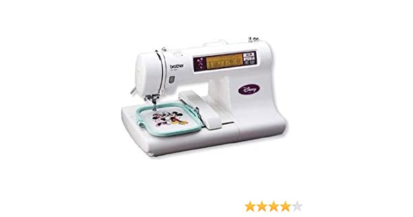 Amazon Brother Disney Embroidery Machine PE40D 40 Built In Fascinating Brother Pe 180d Computerized Embroidery Sewing Machine Disney Edition