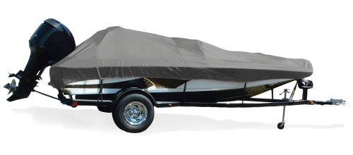 Boats Tournament Bass - Taylor Made Products Trailerite Semi-Custom Boat Cover for Tournament Style Bass Boats with Outboard Motor (19' Center Line Length / 90