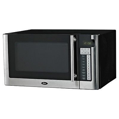 Oster 1.1 Cu. Ft. 1000 Watt Digital Microwave Oven - Black OGG61101 (Oster Small Digital Oven compare prices)