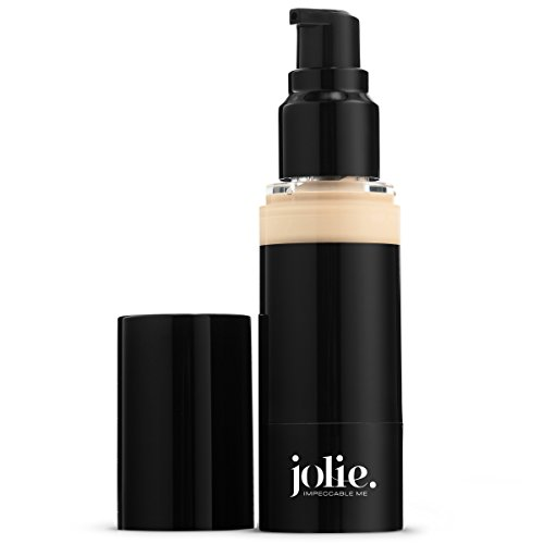 - Jolie Luminous Foundation SPF 15 - Silky Hydrating Liquid Makeup (Buff)