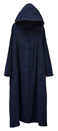 Soojun Womens Sleeve Chinese Pockets