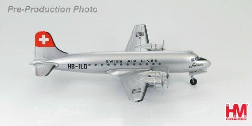 1/200 ダグラス DC-4 スイス航空 ダイキャスト製 HL2004