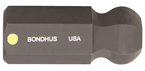 Bondhus 31480 12mm ProHold Socket Ball End Bit with ProGuard