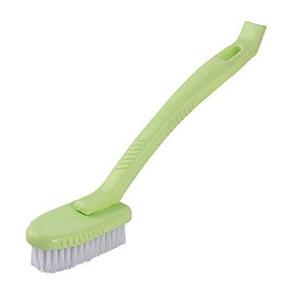 eDealMax Inicio de lavandería mango largo desmontable multipropósito Zapatos cepillo de limpieza de herramientas de color