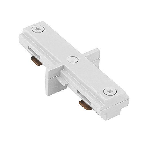 WAC Lighting LI-DEC-WT L Track Dead End I Connector, White