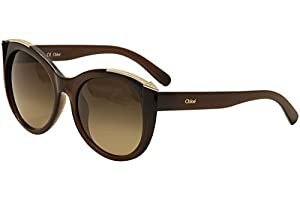 Chloe Sunglasses CE660SR 210 Brown 55MM
