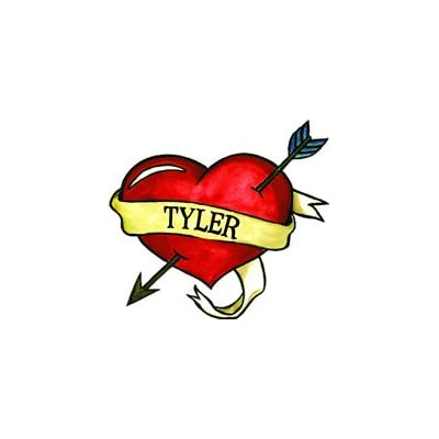 Tyler Temporaray Tattoo: Toys & Games [5Bkhe0800955]