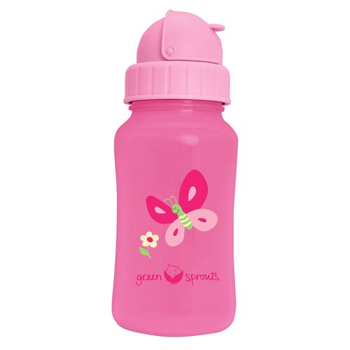 Green Sprouts Aqua Bottle - Pink - 1 ct (Green Sprouts Aqua Bottle)