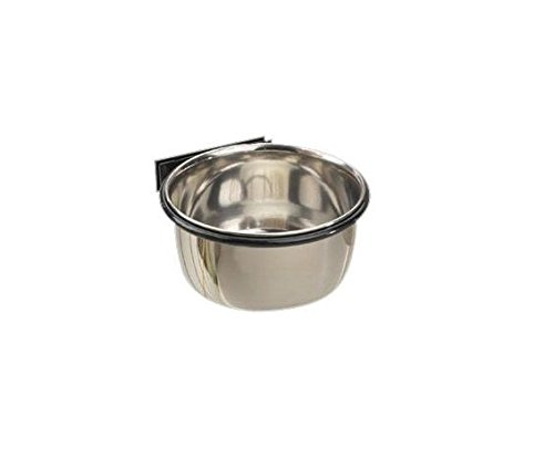 Classic Stainless Steel Bolt On Coop Cup Bowls For Dogs - Five Sizes To Choose (8 Ounces) (Stainless Proselect Cup Coop Steel)