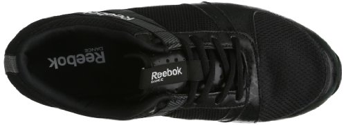 Reebok DANCE URRHYTHM RS 2.0 SE - zapatillas de danza de tela mujer negro - Schwarz (BLACK/PURE SILVER)