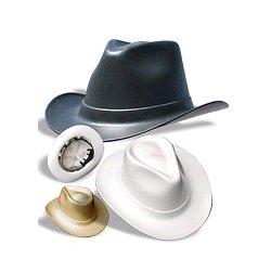 Vulcan Cowboy Hard Hat 6 Point Ratchet Suspension, Tan - Hat Outlet Online