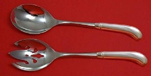 - Rattail Antique By Reed Barton Dominick Haff Sterling Salad Serving Set Custom