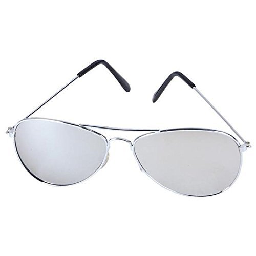 Dark Aviator Sunglasses-Mirror for $<!--$5.82-->