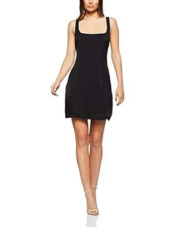 THIRD FORM Women's Bound Back Mini Dress, Black, Extra Small