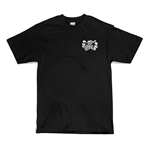 Sippin T 40's Shirt Nero Santa Uomo Shorties gRwFnq4E