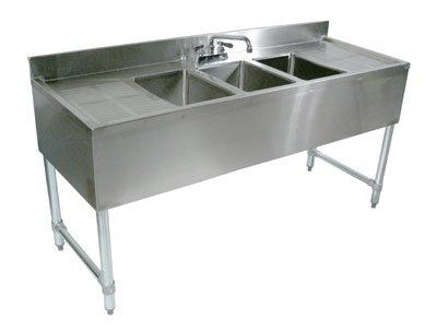 Compartment Underbar Sink - 4