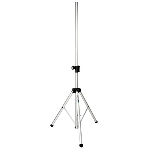 Quik Lok Easy-Lift Deluxe Aluminum Pneumatic Speaker Stand with 1-3/8