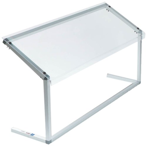 Acrylic Sneeze Guard (Carlisle 916007 Acrylic Standard Single-Sided Sneeze Guard with Aluminum Frame, 60 x 12.19