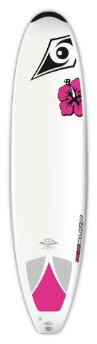 UPC 883667005560, BIC Sport DURA-TEC Natural Surf 2 Wahine Surfboard, White/Pink, 7-Feet 9-Inch x 22-Inch