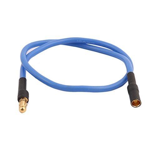 Amazon.com : eDealMax Azul de 300 mm de Largo 16 AWG de Hilo ...