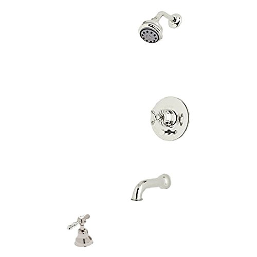Rohl ACKIT21L-PN Cisal Shower System with Pressure Balanced Valve Trim, Shower Head, Polished Nickel