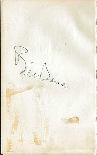 Bill Dana Signed 4.25x7 Vintage Album Page comedian
