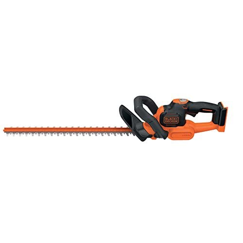 BLACK+DECKER 36 V Lithium-Ion Anti-Jam Hedge Trimmer, Bare Unit, 55 cm (Battery not Included)