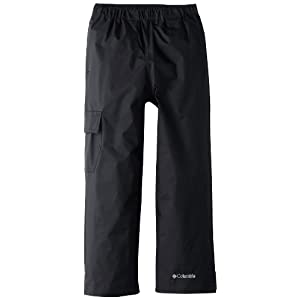Columbia Big Boys' Cypress Brook II Pant, Black, Large