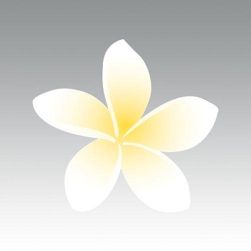 RDW Plumeria Sticker - Die Cut - Decal - Flower Flowers