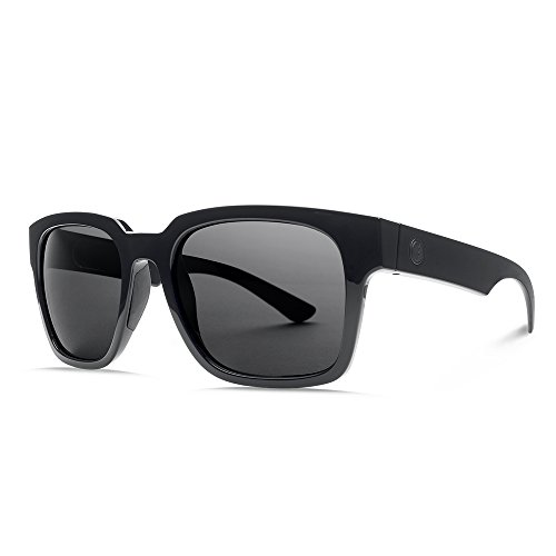 Electric Visual Zombie S Gloss Black/OHM Grey Sunglasses by Electric