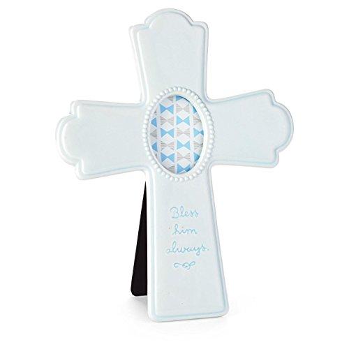 - Hallmark Blue Ceramic Cross Picture Frame