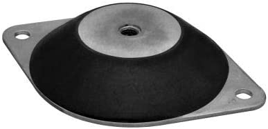 Vibra Systems LF 8060 Max Load, Pack of 5 Low Profile Compression Mount Double Deflection 176 Lbs
