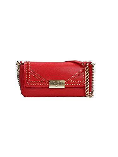 Hwgldnl8221 Guess Bag With Red Shoulder Single Woman