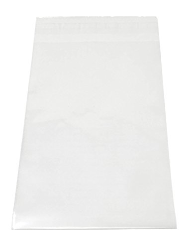 Shop4Mailers 12 x 15.5 Clear Plastic Self Seal Poly Bags 1.5 Mil (100 Pack) from Shop4Mailers