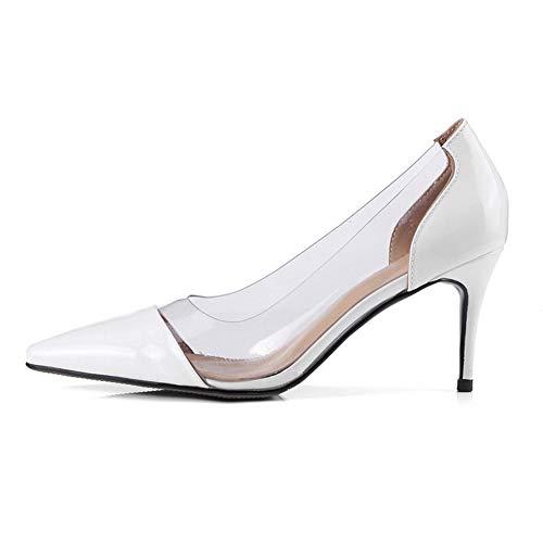 Adeesu Cuña Sdc06082 Blanco Mujer Con Sandalias A6wOA