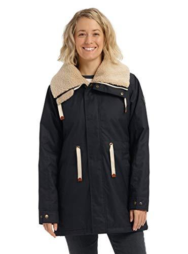 Burton Women's Hazelton Jacket, True Black, X-Large